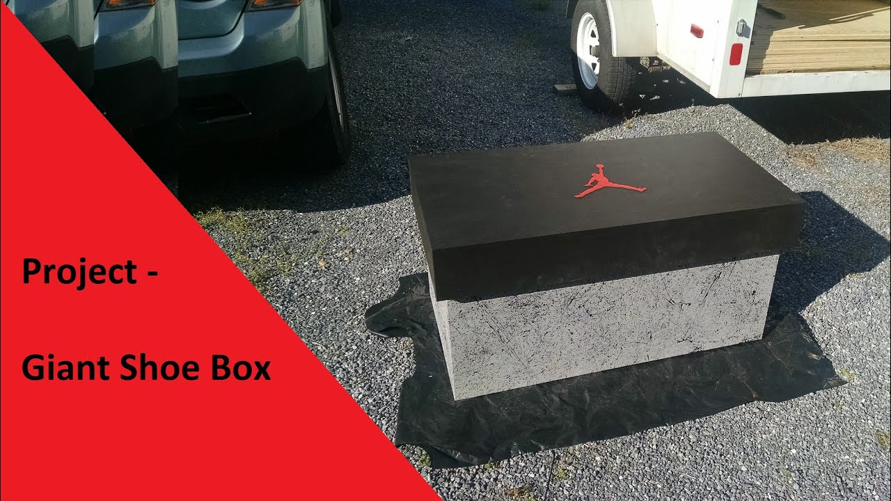 air jordan shoe box history project