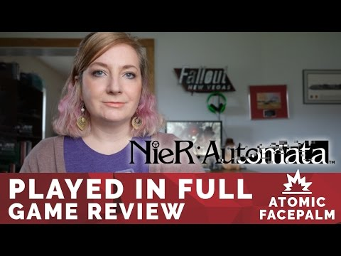 Nier Automata Review - Opinion, Discussion  & Gameplay - Played in Full Video Game Review