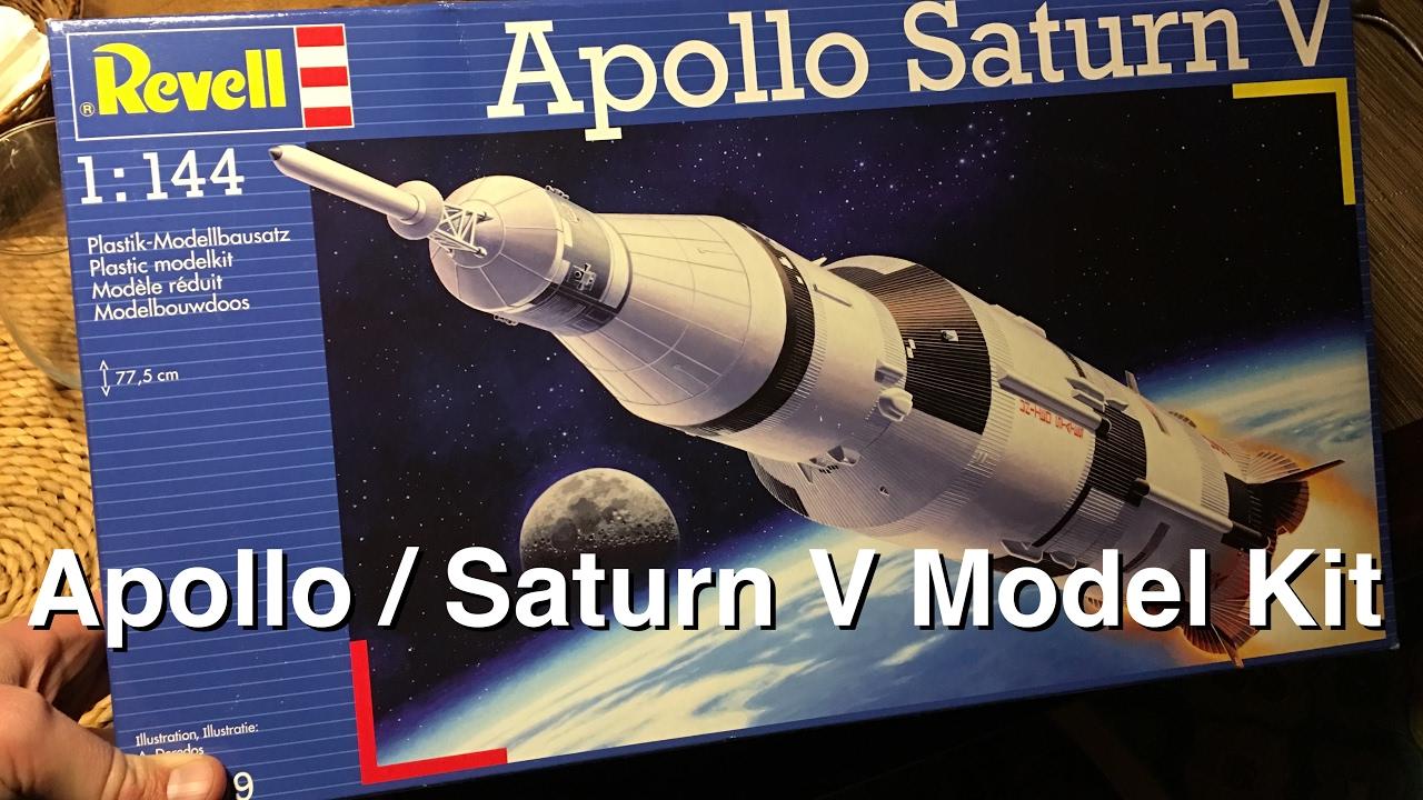 Model Saturn V - Apollo 11 at 1:144 Scale - YouTube