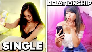 SINGLE VS RELATIONSHIPS