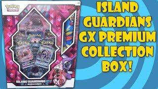 Pokemon Island Guardians GX Premium Collection Box Opening!