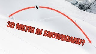 SNOWBOARD JUMP ENORME IN NEVE FRESCA?!
