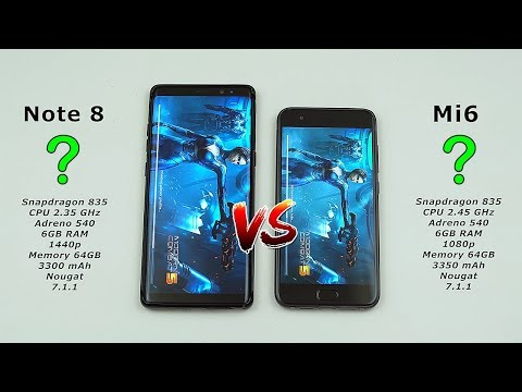 Samsung Note 8 vs Xiaomi Mi6 Speed Test! (can my Note 8 dodge another defeat?) [4K]