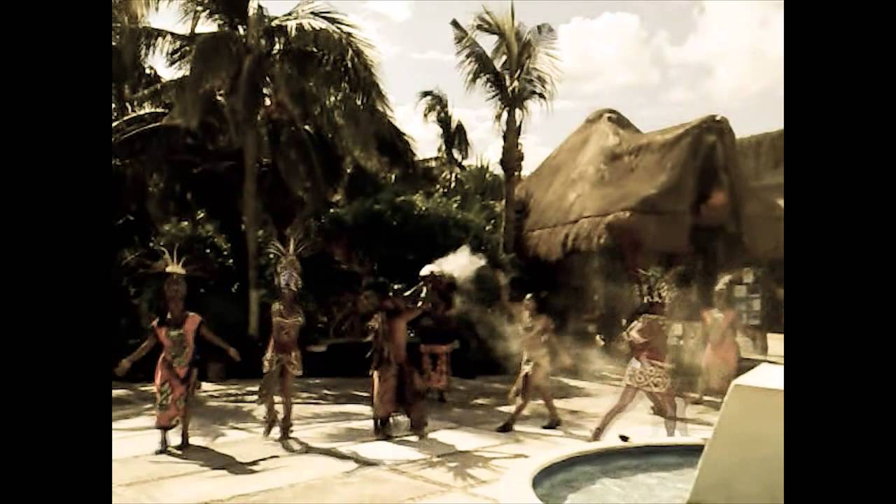 Mayan Virgin Blood Sacrifice Ritual Dance, Mexico - YouTube