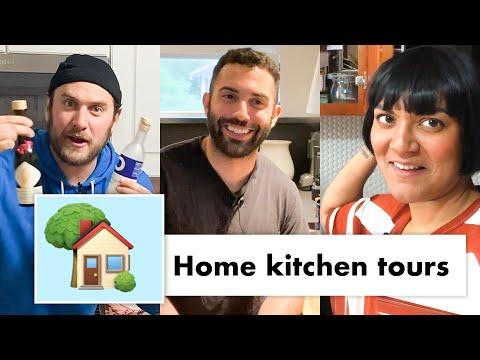 Pro Chefs Take You on a Tour of Their Kitchens | Test Kitchen Talks @ Home | Bon Appétit