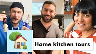Pro Chefs Take You on a Tour of Their Kitchens | Test Kitchen Talks @ Home | Bon Appétit