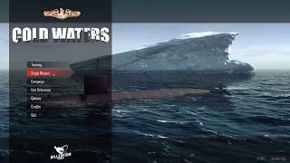 Cold Waters Submarine Simulator   The No-Win scenario   US Seawolf Submarine vs Multiple Enemies