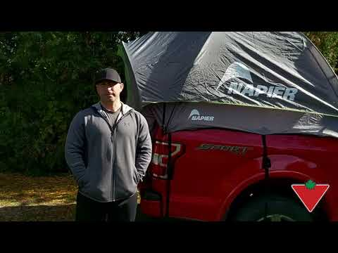 Napier Truck Tent reviewed by Shawn