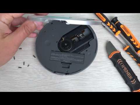 Sony  walkman D-NE730 ATRAC/MP3 CD player. Unboxing. How to open.
