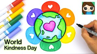 How to Draw the Earth  World Kindness Day