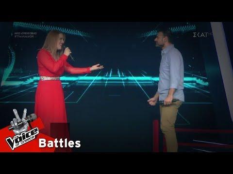 Έλενα Μιχαλάκη vs Ηρακλής Φάμελλος – Στη ρωγμή του χρόνου | 2o Battle | The Voice of Greece