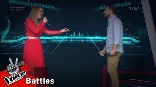 Έλενα Μιχαλάκη vs Ηρακλής Φάμελλος - Στη ρωγμή του χρόνου | 2o Battle | The Voice of Greece