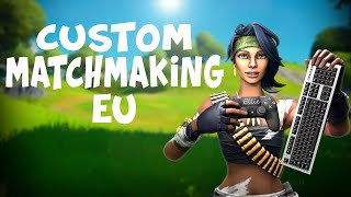 (EU) FASHION SHOW & FORTNITE CUSTOM MATCHMAKING LIVE | Girl Gamer | VOTE FOR SOLO/DUO/SQUADS |