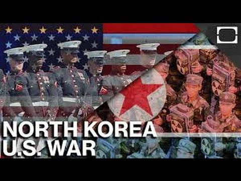 The Infographics Show - North Korea vs The United States - Who Would Win The War?