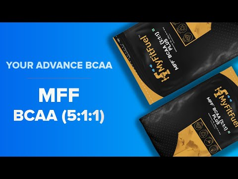 MFF BCAA (5:1:1) | Advance Muscle Builder | Enhanced BCAA | High Exercise Performace