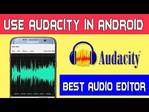 How To Use Audacity Software In Android