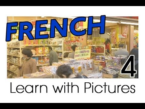 Learn French - City Buildings Vocabulary
