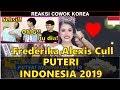 REAKSI COWOK KOREA Lihat PUTERI INDONESIA 2019