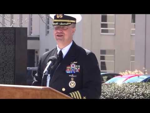 05-GUEST  SPEAKER  Captain Carl A. Lahti - Commanding Officer, Naval Sub Base New London --
