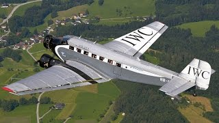 Junkers Ju 52 Flying Demo at Hahnweide Air Show 2013