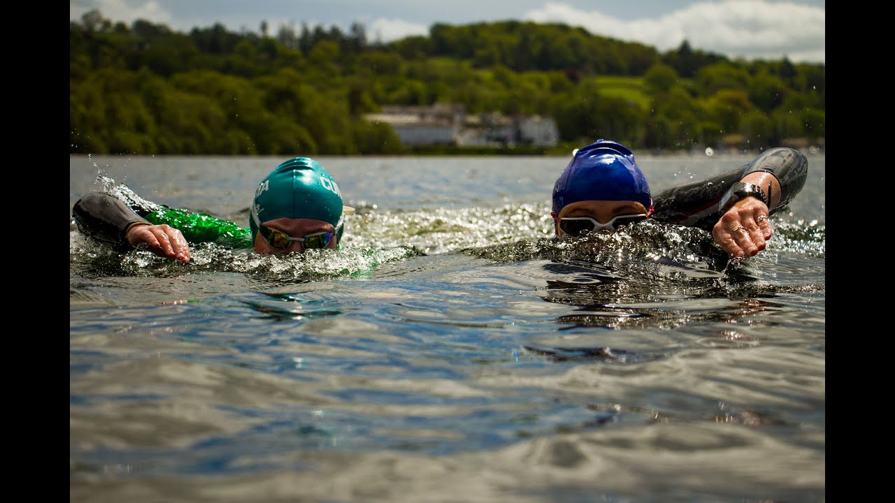 Open Water Swimming Training With Cassie Patten In Windermere Youtube