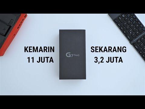 HP 11JUTA SISA 3,2JUTA!! Unboxing LG G7 ThinQ