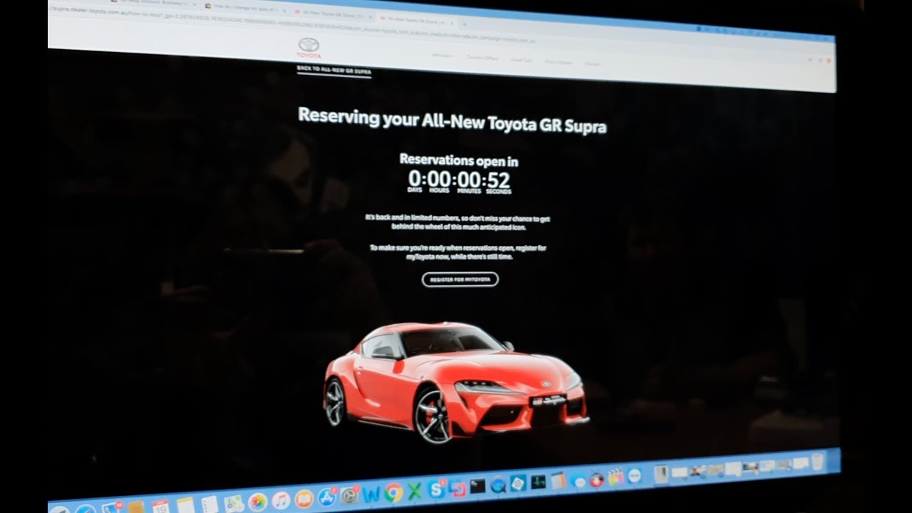 Ordering The New 2020 A90 Supra In Australia Part 1 The Beginning