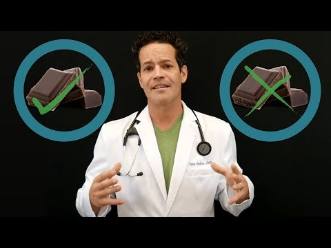 Is Eating Dark Chocolate Actually Healthy? DOCTOR'S THOUGHTS!