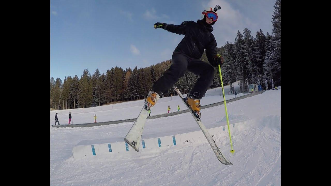 Fai della paganella skiing and fun  -gopro hd (january 2016)