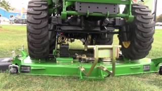 How-To: Install and Remove a John Deere 72D Drive Over Mower Deck