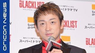 俳優の山本耕史(40)が21日、都内で行われた『スカパー!ドラマTV pres...
