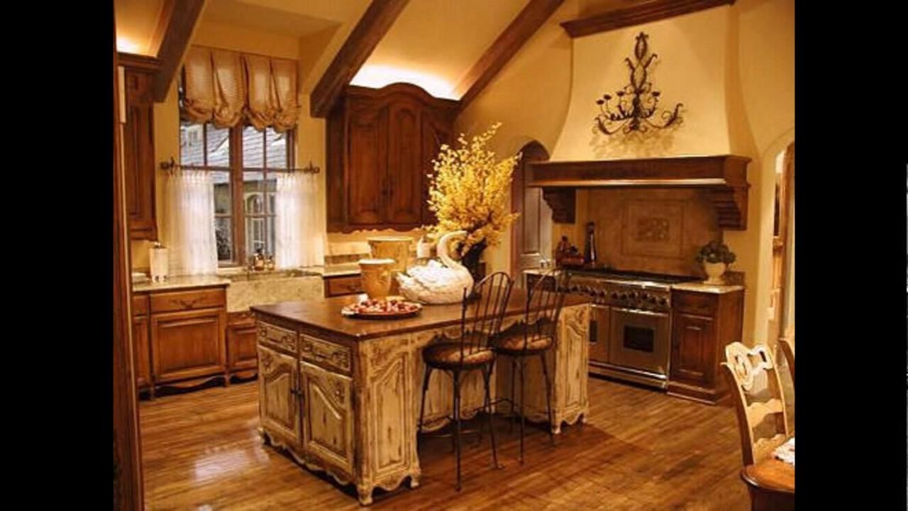 Decorating ideas for kitchen vintage kitchen decorating for Kitchen decorating ideas youtube
