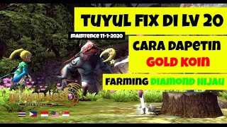 Cara mendapatkan Gold Coin & Diamond Hijau Special WODN - World of Dragon Nest