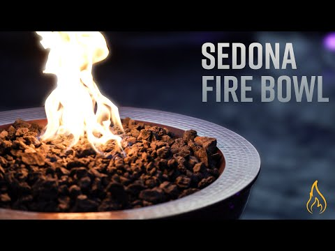 """Sedona Copper Fire Bowl - 27"""""""
