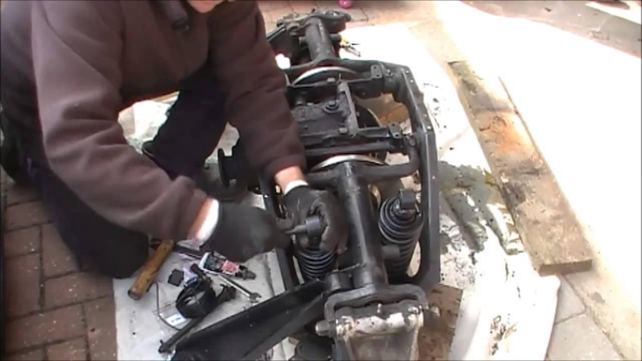 Jaguar E Type Rear Suspension Rebuild Part 7