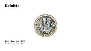 Spring Statement 2018 | The economic landscape