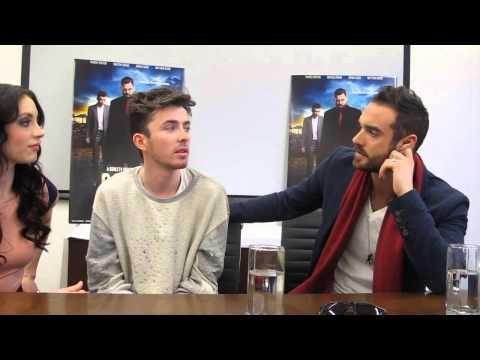 Leah Gibson, Matthew Beard, and Joshua Sasse talk DirectTV's