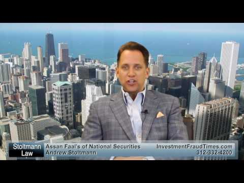 Assan Faal's of National Securities investment Losses