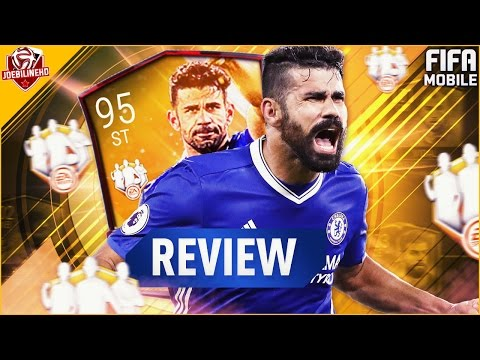 FIFA MOBILE TOTW MASTER 95 IF COSTA REVIEW #FIFAMOBILE 95 TOTW MASTER COSTA PLAYER REVIEW STATS