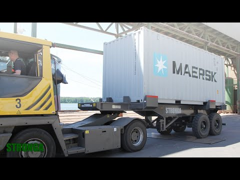 Stronga PortLoada PL200 – Heavy-duty port trailer extending efficiency in the shipping industry