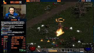 Diablo 2 - Hardcore Druid Speedrun Attempts (05/23/2019)