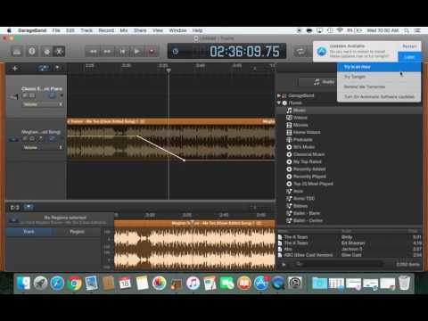 Garageband for Dance Teachers: How to fade the ending of a song