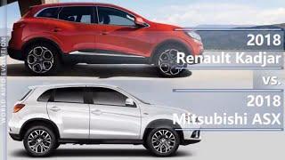 2018 Renault Kadjar vs 2018 Mitsubishi ASX / Outlander Sport (technical comparison)