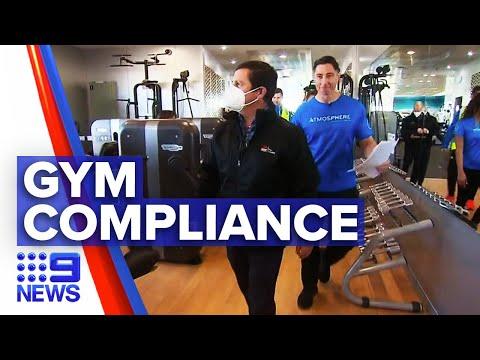 Coronavirus: Inspectors out across Sydney gyms to ensure compliance   9 News Australia