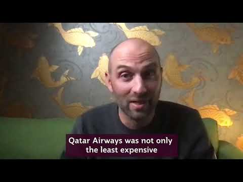 Michael Skarbek reunites with his wife back in Australia | Qatar Airways