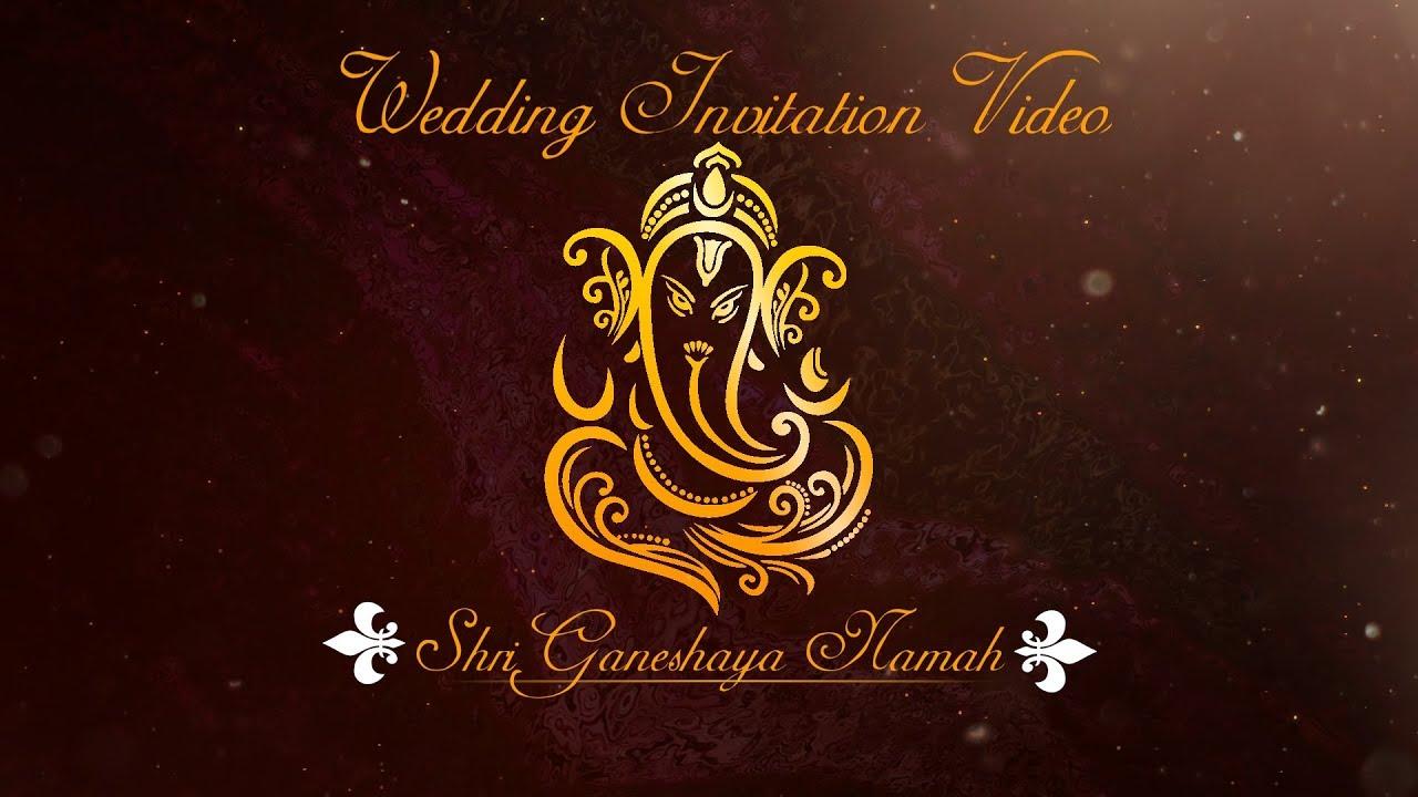 digital indian wedding invitation  gc018  save the