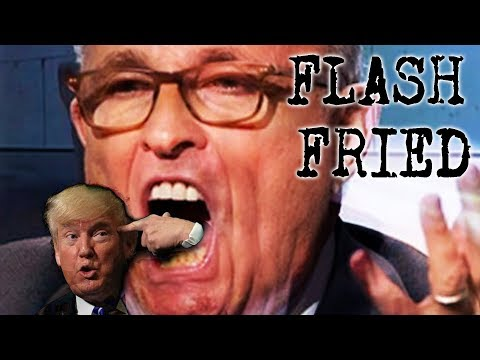 Trump's In Trouble, Ghoul-iani's Lie Sack, Crack Addict Shenanigans = FLASH FRIED
