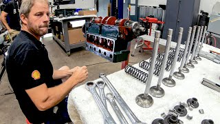 Assembly continues on our Model A Ford engine. Almost ready to run!   Redline Update #21