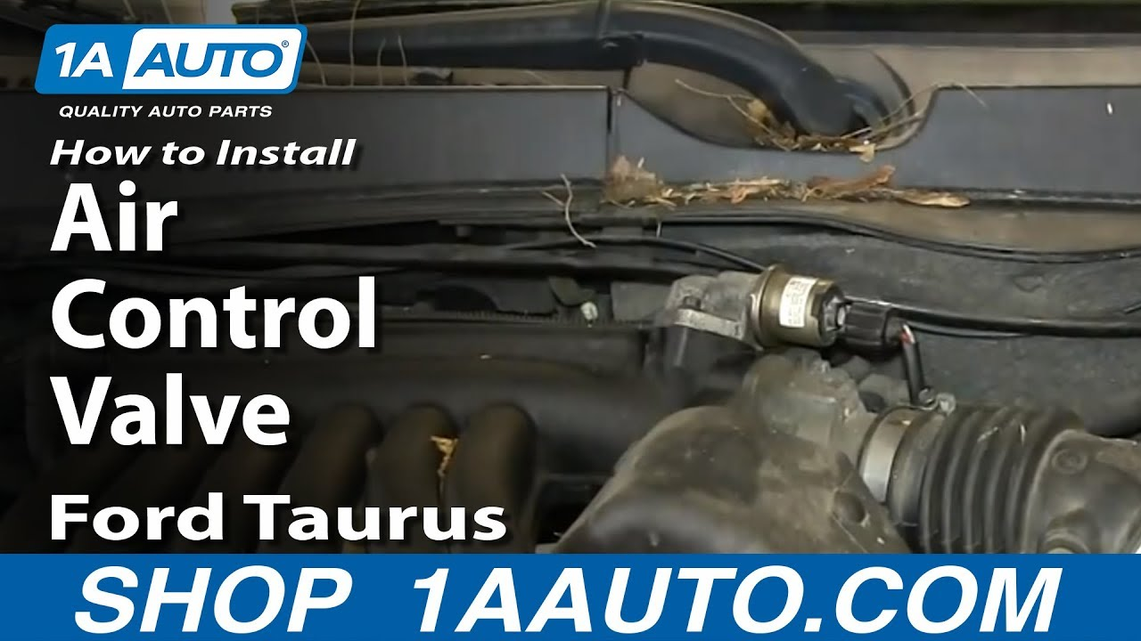 How To Install Idle Air Control Valve 2000 07 Ford Taurus 30l Youtube Flex Fuel Engine Diagram