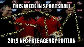 This Week in Sportsball: 2019 NFC Free Agency Edition